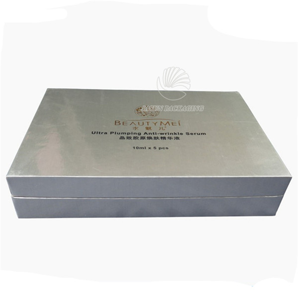 Custom Printing 5 Pieces Rigid Paper Box
