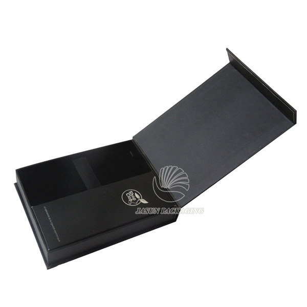 High Quality Black Cardboard Packaging Box For title=