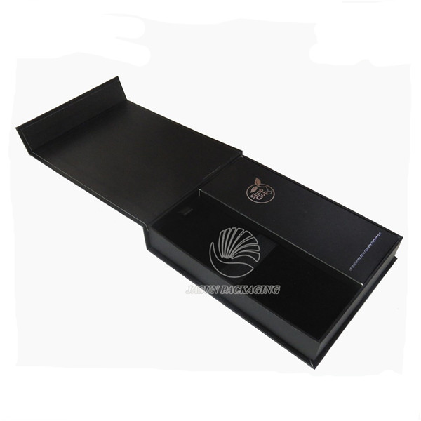 High Quality Black Cardboard Packaging Box For
