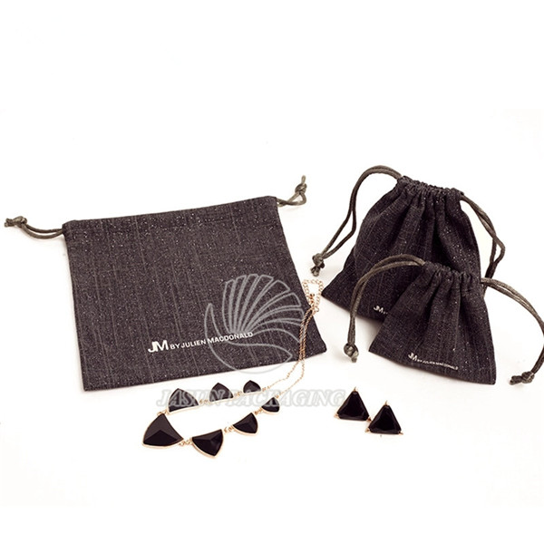 Fast delivery accept small order cotton jewelry bags