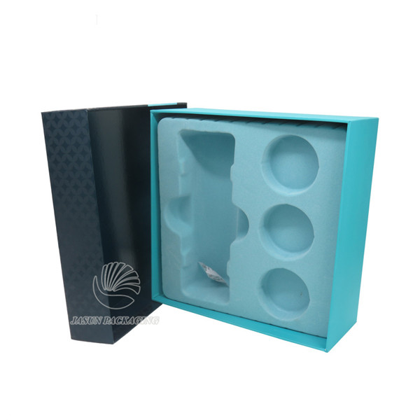 spot UV varnishing 2 pieces tea set packaging boxes