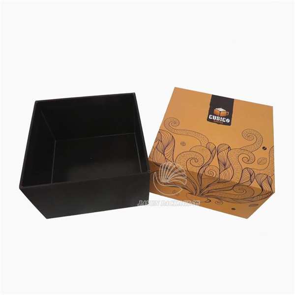 pantone color printing box packaging 2 piece