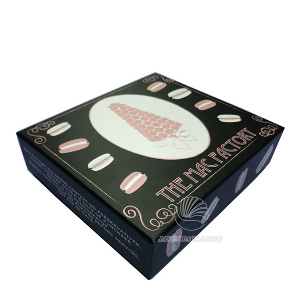 FDA approved set up french macaron packaging