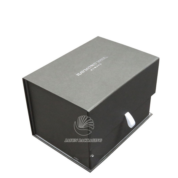High quality pink cardboard Foldable collapsible box