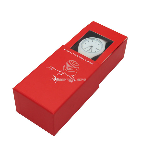 Best Selling Red Single Watch Box With