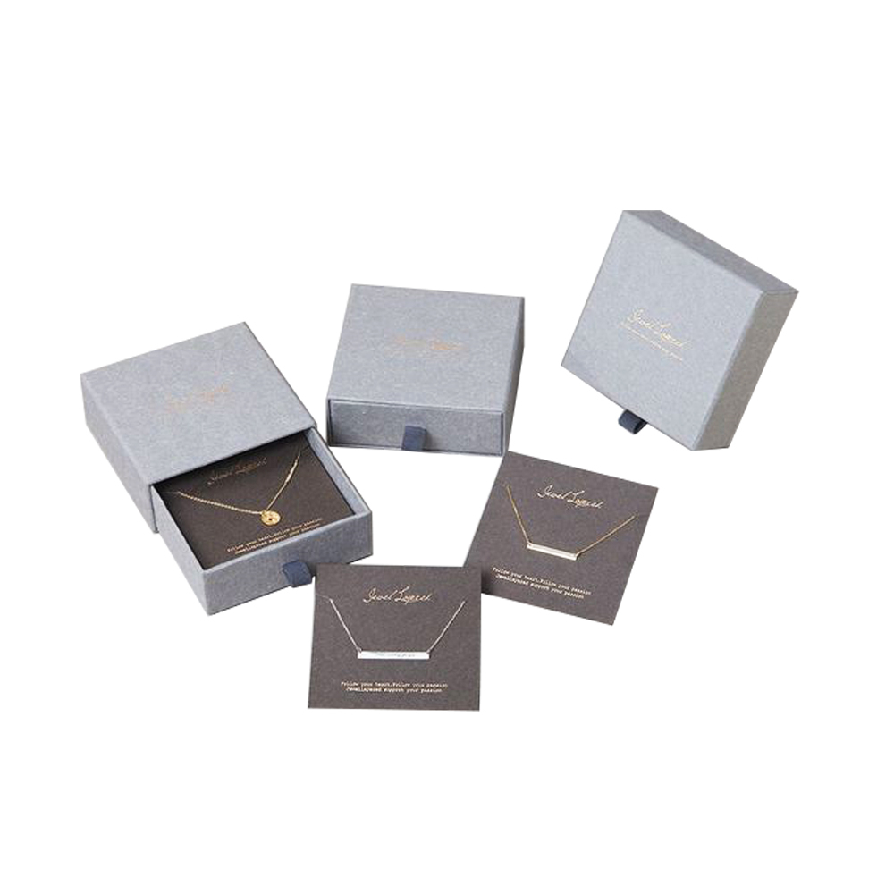Custom packaging for necklace ring paper luxury