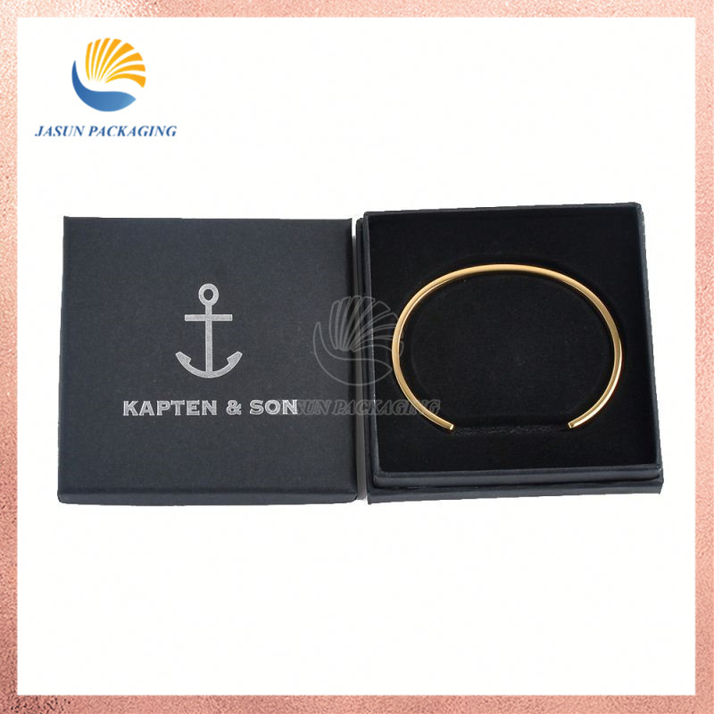 Wholesale Custom Logo Luxury Gift Bracelet Black title=