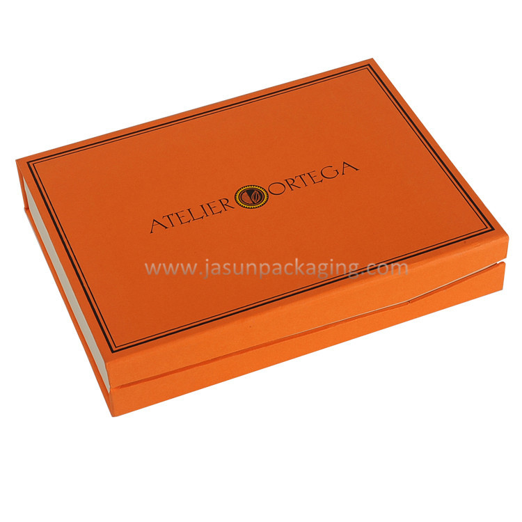 High end chocolate cardboard paper one piece box