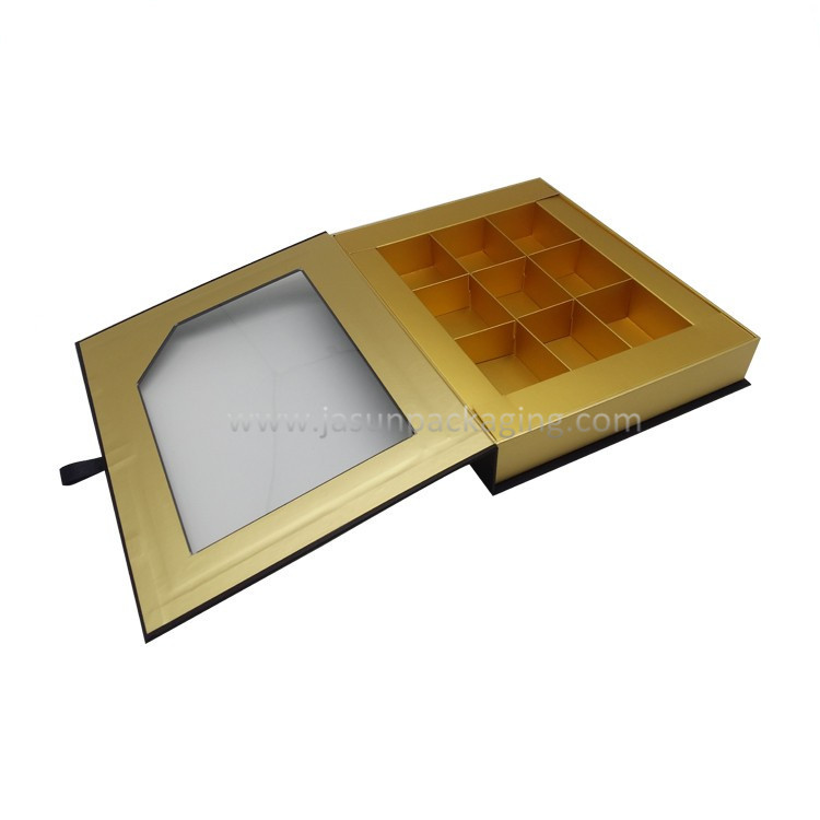 Clear Window Invisible Magnetic Box With Paper title=