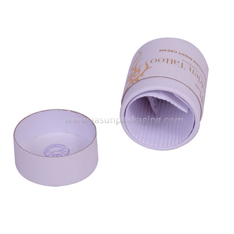 Custom Printing Recyclable Cardboard Round Paper Box