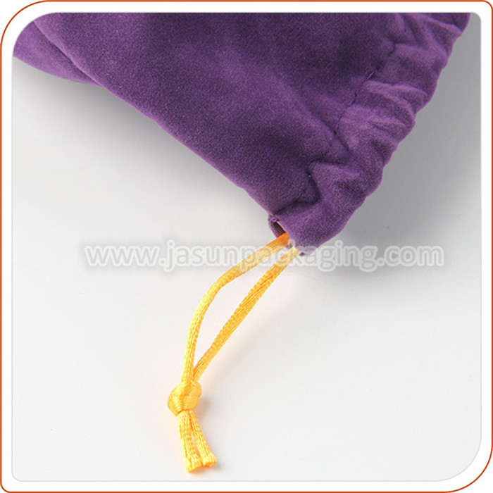 high end wholesale velvet drawstring jewelry bags