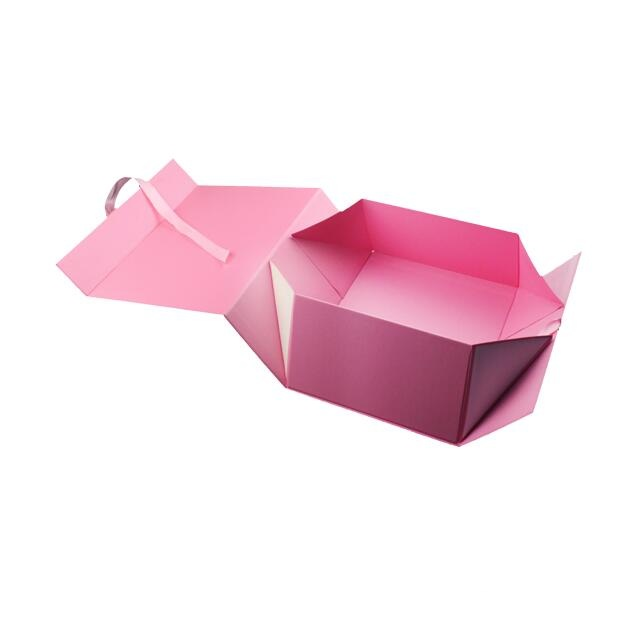 Paper Folding Rigid Carton Gift Box for Garment Cosmetics Packaging